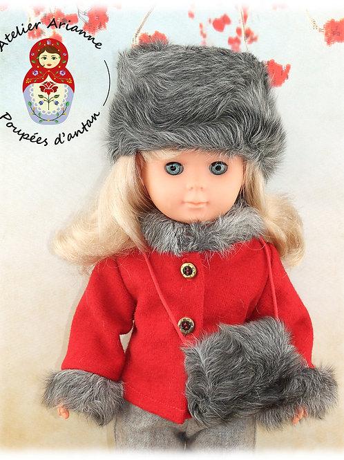 Novembre 1982 Tenue pour poupée Marie -Françoise de Modes et Travaux