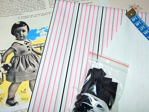 Kit 73 couture Modes et Travaux Françoise Juin 1957