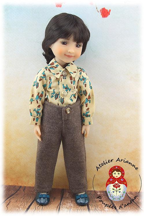 Jean-Marie - Tenue pour poupée Ruby Red