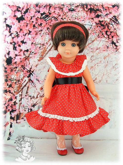 Juin 1982-Tenue pour poupée Marie-Françoise de Modes et Travaux