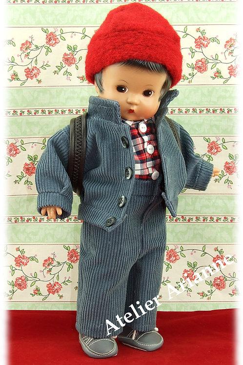 Tenue HECTOR novembre 2000 pour poupée Patsy et Skippy de 33 cm
