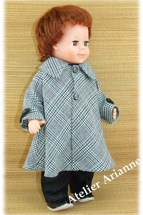 Tenue pour poupée Jean-Michel Modes et Travaux Novembre 1976