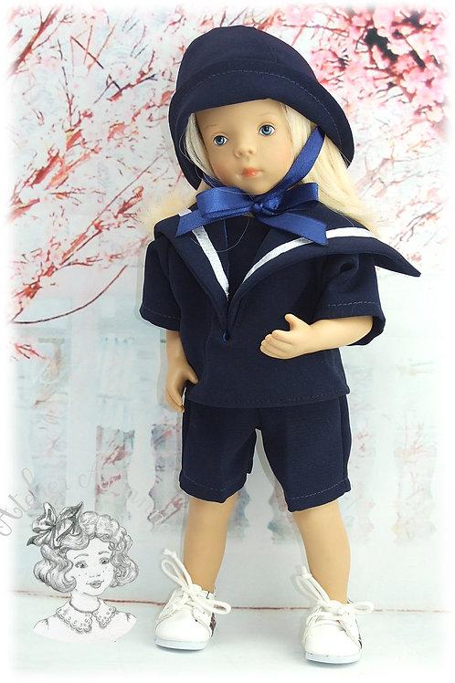 Tenue pour poupée Minouche ou baigneur 25 cm, Juillet 1979