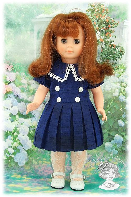 PROMOTION ! Tenue pour poupée Françoise de Modes et Travaux, Décembre 1955