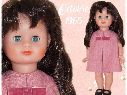 Tenue pour poupée Emilie Modes et Travaux Octobre 1965