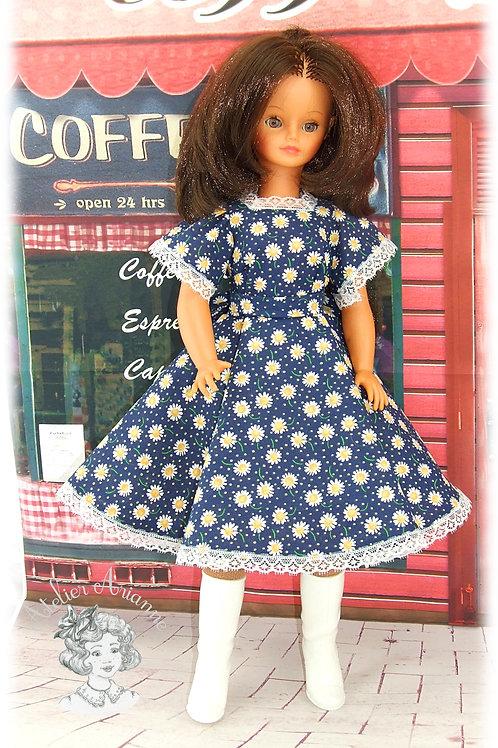 Robe Katell, Tenue  pour poupée Cathie de Bella