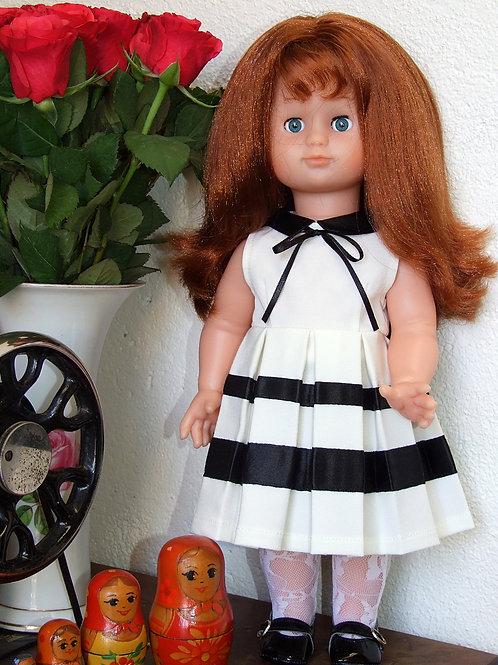 """Tenue """"Audrey"""" pour poupée Emilie"""