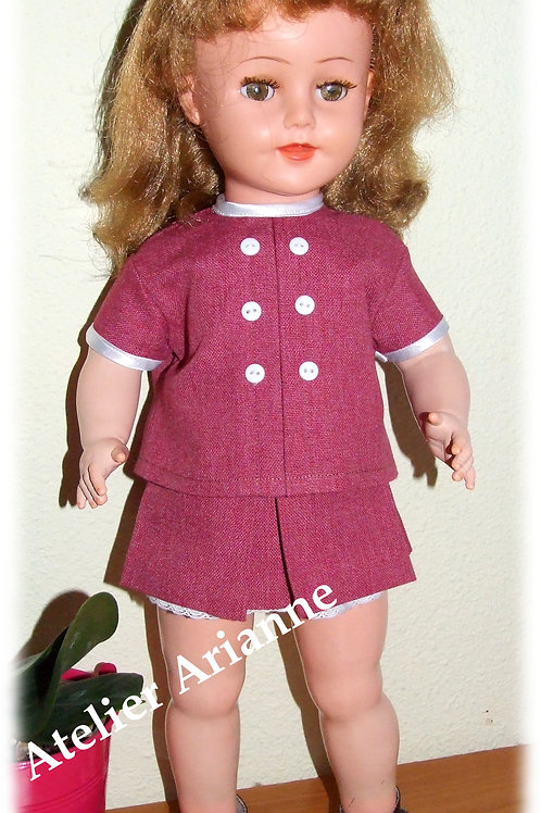 Tenue Sabine pour poupée Raynal 48, Journey Girl, Corolle 36...