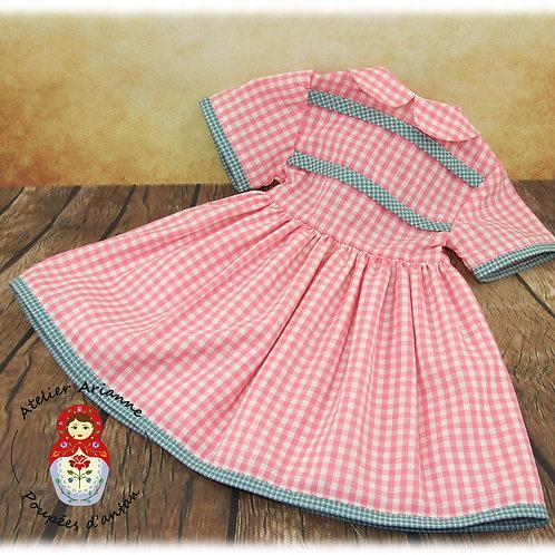 ARYA Reproduction de la tenue pour poupée