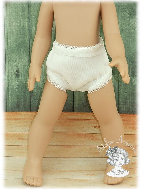 Culotte pour poupées Bella de 25-26 cm