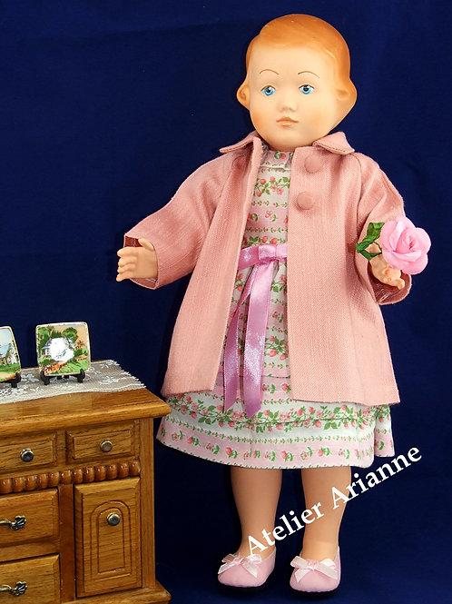 Tenue Chantal pour poupée Laurette, Françoise Modes et Travaux, Bella 39-42 cm