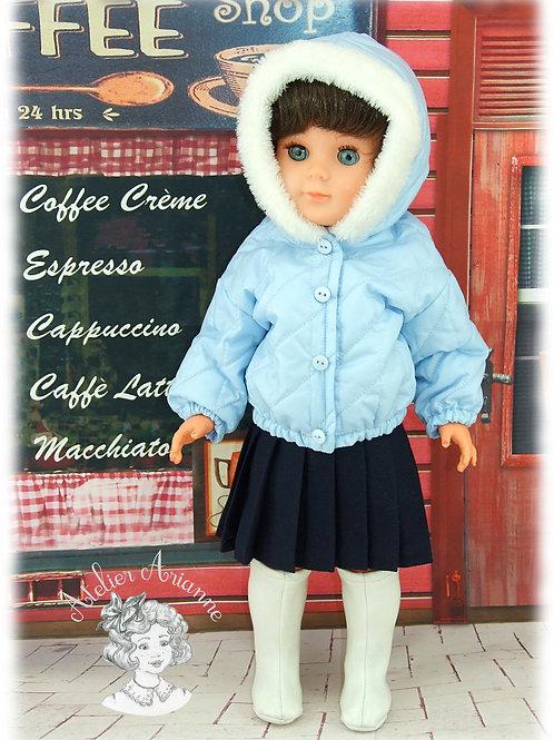 Anorak Pauline pour les poupées de Modes et Travaux