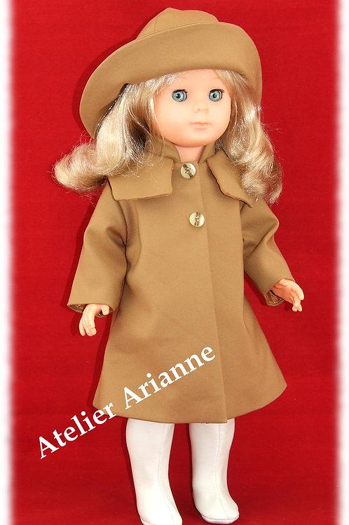 Tenue Mars 1980 pour poupée Marie-Françoise de Modes et Travaux