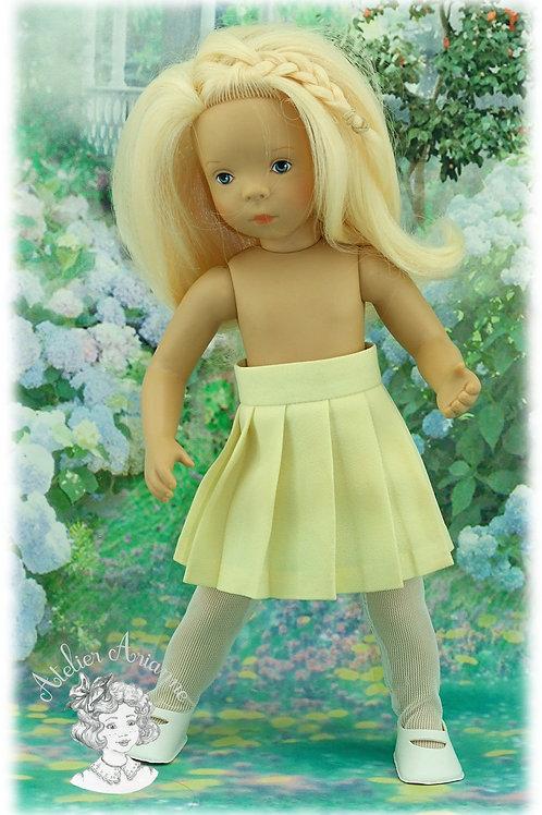 PROMOTION- Jupe plissée pour poupée Minouche de 33 cm