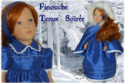 Tenue de soirée pour la poupée Finouche de Petitcollin