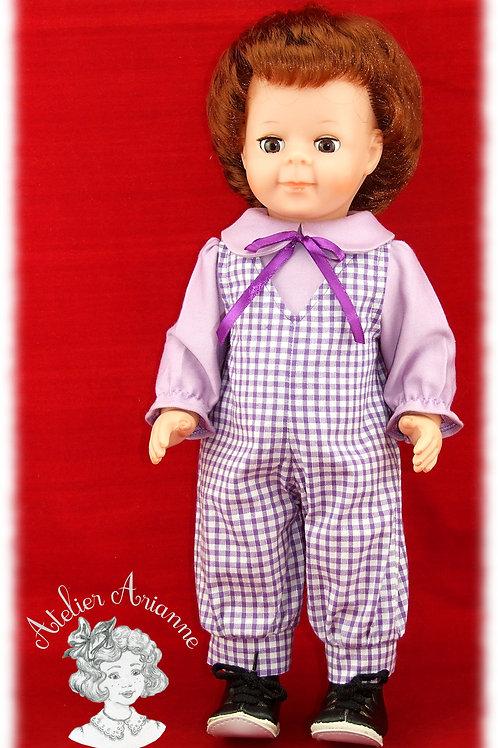 Tenue pour poupée Jean-Michel Modes et Travaux Octobre 1981