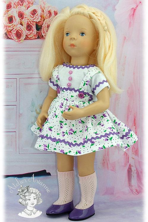 Tenue Ninette pour poupées: Minouche, Corolle, Paola 33 cm, Bombon 30 cm