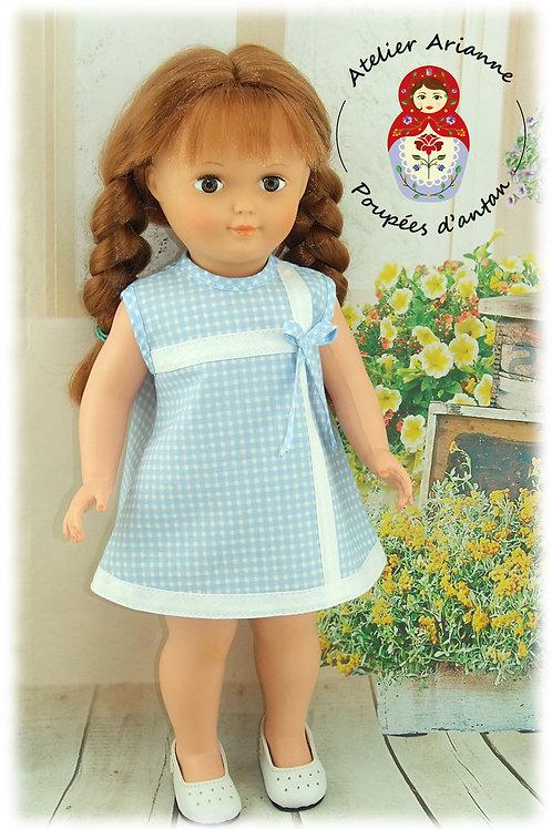 Tenue pour poupée Françoise Modes et Travaux Juin 1968