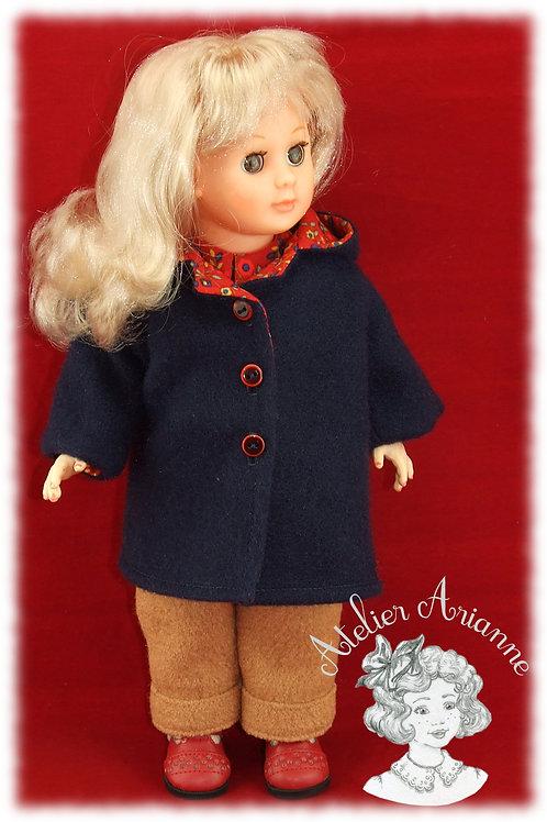 Automne tenue pour poupée Marie-Françoise