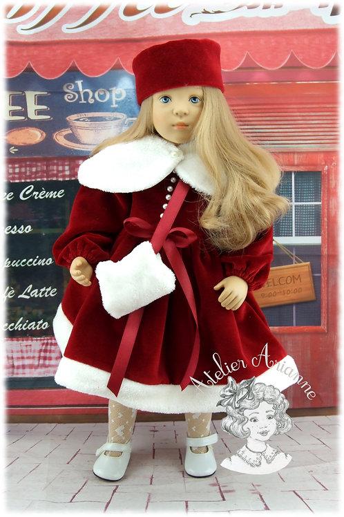 Modèle exclusif - Elsa tenue pour poupée Finouche