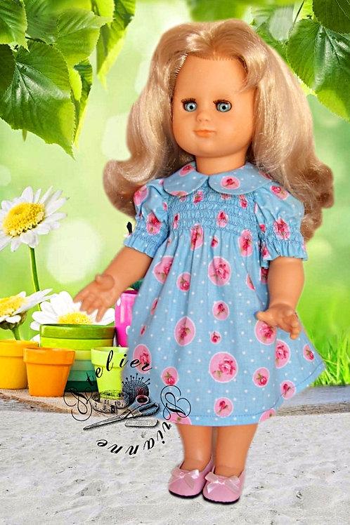 Tenue pour poupée Emilie Modes et Travaux Octobre 1978