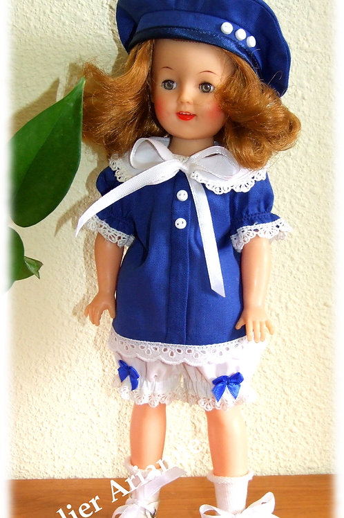 Tenue Sylvie pour poupées Meadow Dolls ou Shirley