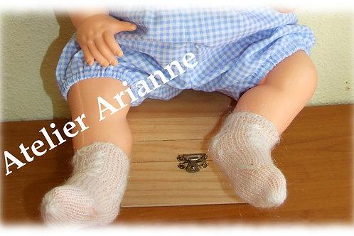 Chaussettes pour poupées et baigneurs de 50 - 55 cm