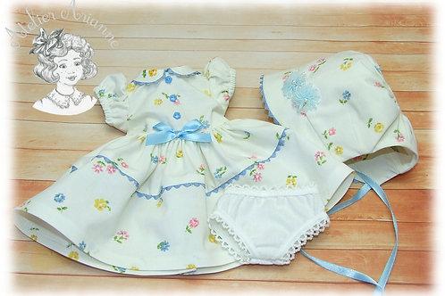 Tenue Mirella pour poupée Colette de Bella 32 cm + culotte