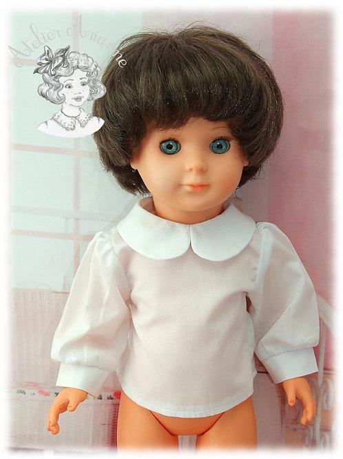 Chemise pour poupée Modes et Travaux  Françoise, Francette, Louise