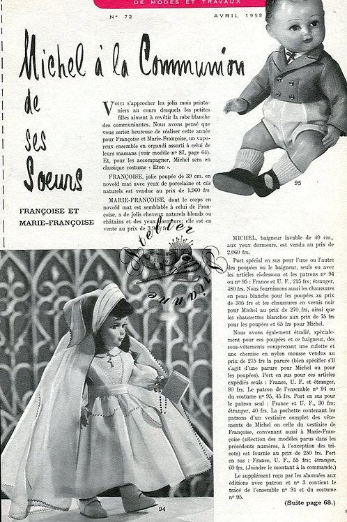 Page Modes et Travaux Avril 1959