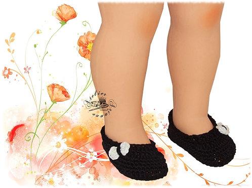 Chaussures crochet Françoise ou Marie-Françoise
