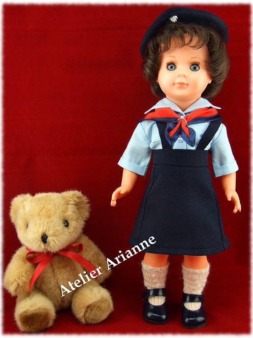 Tenue pour poupée M et T Décembre 1959