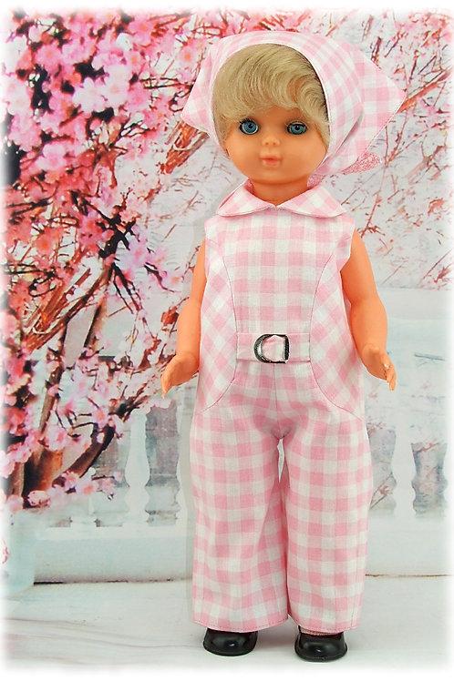 Tenue pour poupée Bella et autres 38 cm Juillet 1970
