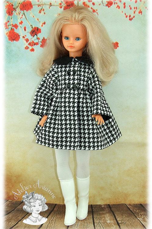 Katarina - Manteau pour poupée Cathie de Bella