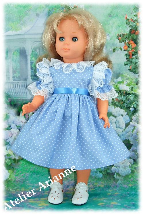 Tenue pour poupée Françoise , Francette de Modes et Travaux Avril 1983
