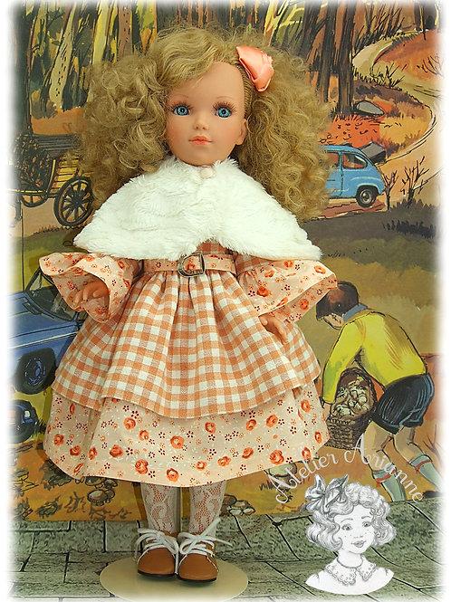 Modèle exclusif -Tenue Emeline pour poupée Vidal Rojas