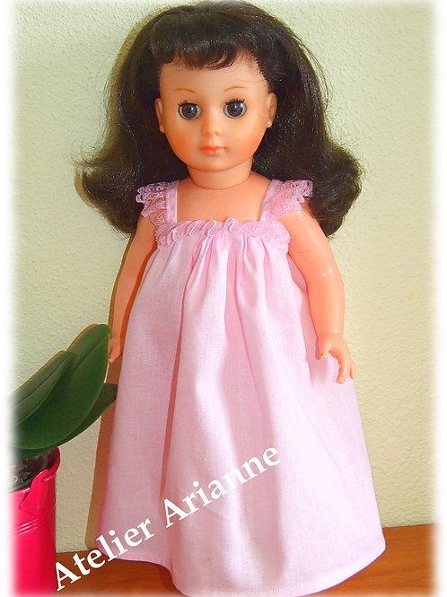 Tenue Août 1965 pour poupée de Modes et Travaux, Marie-Françoise