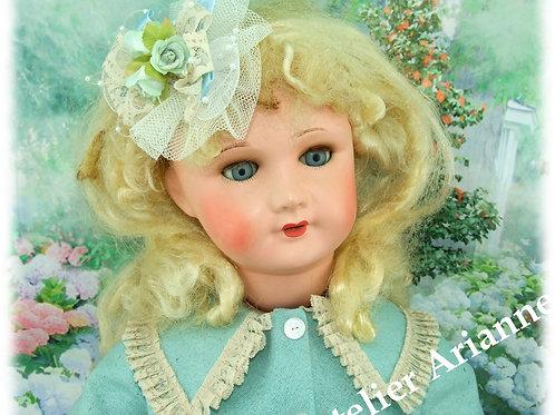Tenue Adeline pour poupées Jumeau 75 cm