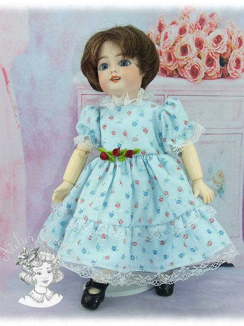 Pélagie-Tenue pour poupée Bleuette