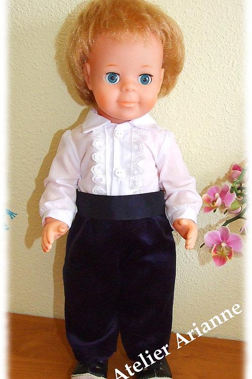 Tenue Février 1969 pour poupée de Modes et Travaux, Jean-Michel ou Michel