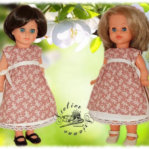 Tenue pour poupée Bella ou autre 40 cm