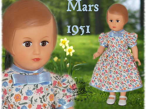 Tenue M&T pour Françoise Mars 1951