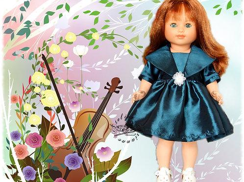Tenue pour poupée Maire-Françoise Modes et Travaux Novembre 1959
