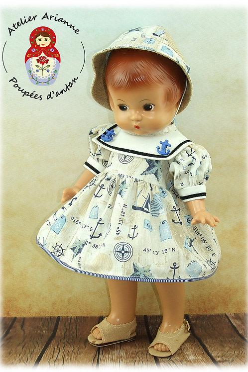 Victoria - Tenue pour poupée Patsy de 33 cm