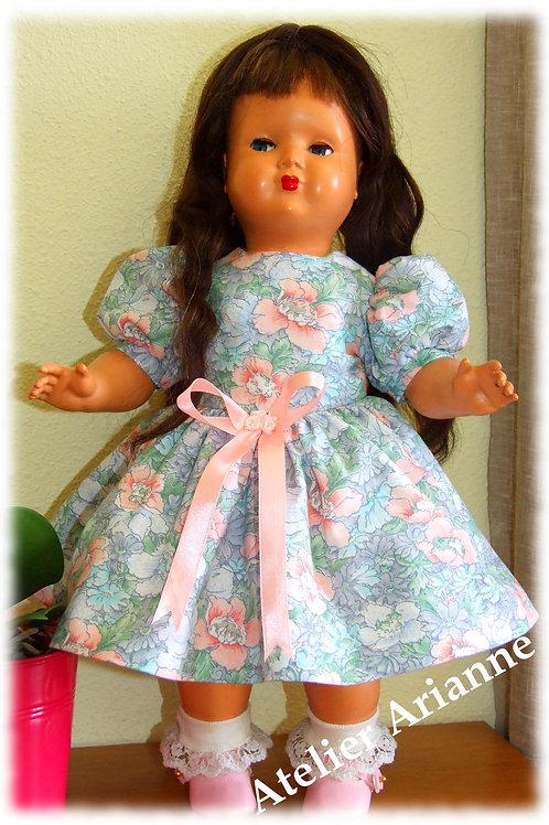 Tenue Anémone pour poupée Gotz, Petit Fille 46 cm, Gotz, Journey, Raynal 48 cm