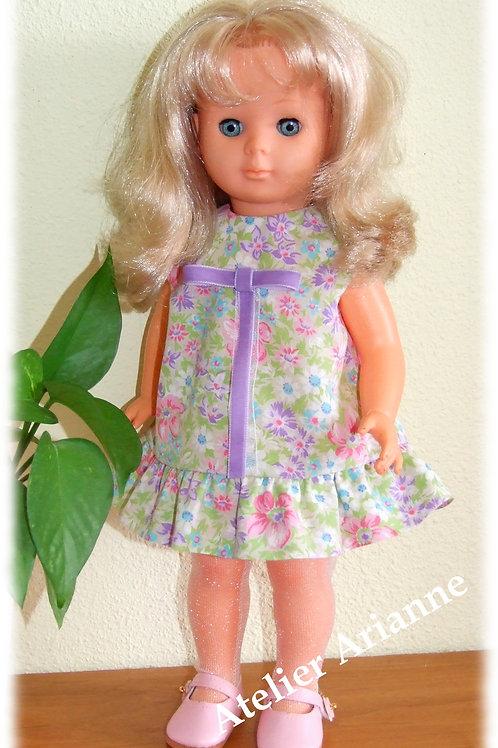 Tenue Octobre 1966 pour poupée de Modes et Travaux, Marie-Françoise