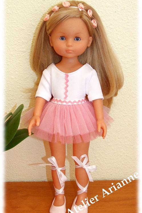Reproduction de tenue Odette pour poupées Chérie de Corolle 33 cm ou Paola Reina