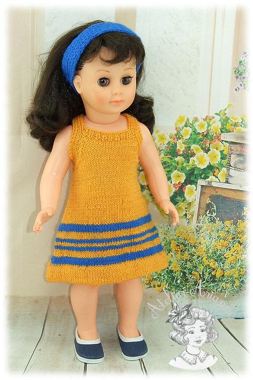 Tenue pour poupée Marie-Françoise Modes et Travaux Juillet 1975