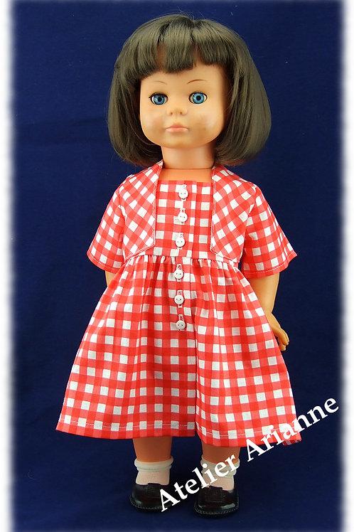 Tenue Lise pour poupée Colette 48 cm et autres poupées d'environ 50 cm