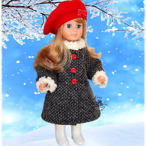 Tenue pour poupée Marie-Françoise,  Modes et Travaux Novembre 1984
